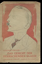 Das Gesicht der Herrschenden Klasse (Face of the Ruling Classes) by George Grosz, 3rd Edn, 1921 Spread 0 recto
