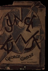 Junge Kunst (Young Art) George Grosz by Willi Wolfradt, 1921 Spread 0 recto